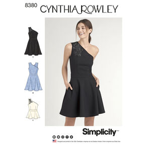 Simplicity Pattern 8380 Misses' Knit Dress or Top