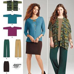 Miss and Plus Size Knit Sportswear