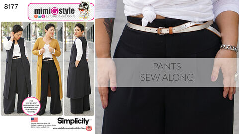 Mimi G Simplicity Pattern 8177 Sew-Along for Pants