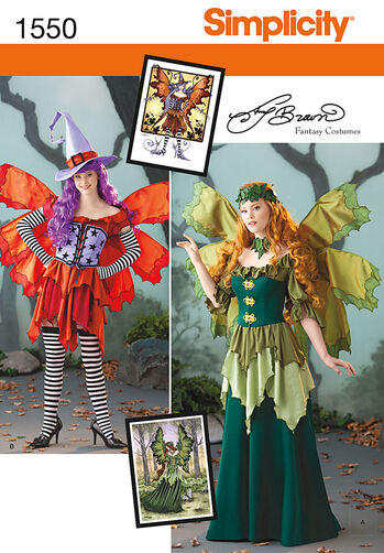 Misses' Amy Brown Fairy Costume