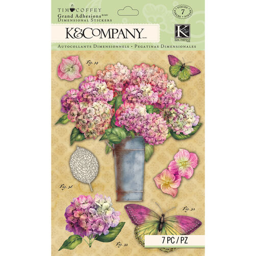 Tim Coffey Foliage- Floral Grand Adhesions _30-672277