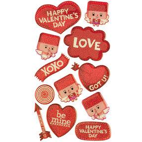 Square Head Cupid Stickers_52-20208