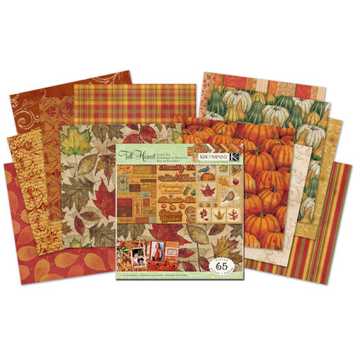 Tim Coffey Fall Harvest 12 x 12 Scrap Kit_30-529960