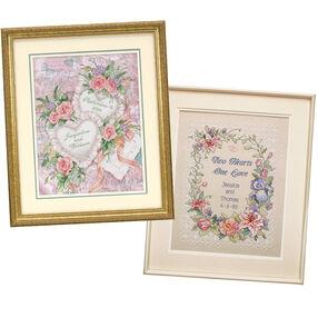 Wedding Sampler Bundle, Stamped Cross Stitch_140062