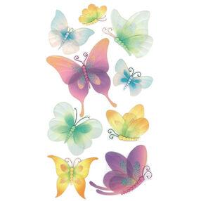 Vellum Butterflies Stickers_50-50064