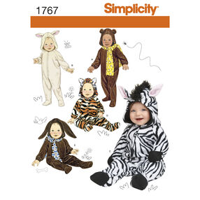Simplicity Pattern 1767 Babies' Costumes
