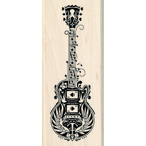 Mindscape Guitar Wood Stamp_60-01056