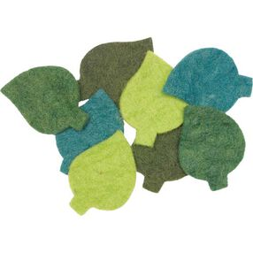 Wool Felt Leaves_73313