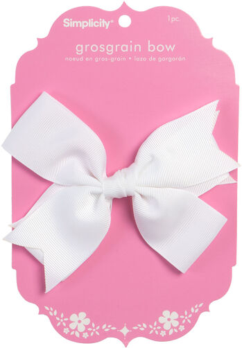 Large Double Grosgrain Bow