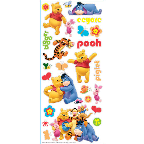 Pooh And Friends Large Stickers_53-60011