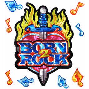 Born 2 Rock Big Stickers_52-80228