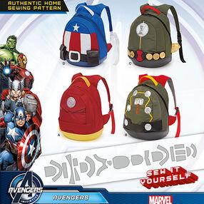 Pattern 8108 Avengers Assemble Backpacks