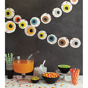 Monster Eyeball Garland_48-20394