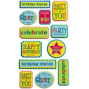 Celebrate Phrases Stickers_52-31014