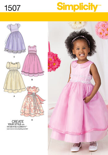 Toddlers' and Child's Special Occasion Dress