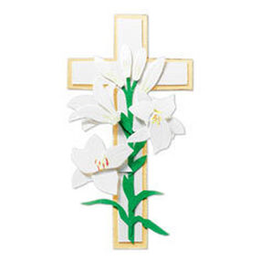 Lily and Cross Embellishment_JJCG011C
