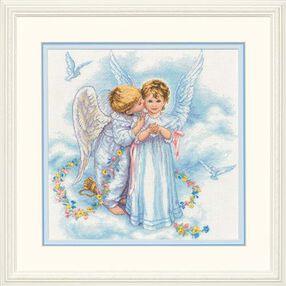 Angel Kisses, Counted Cross Stitch_35134