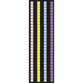 Pastel Mosaic Border Stickers_50-00223