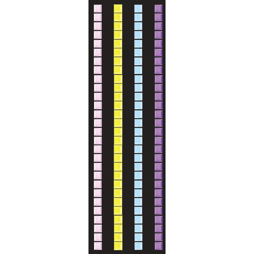 Pastel Mosaic Border Stickers_50-00223