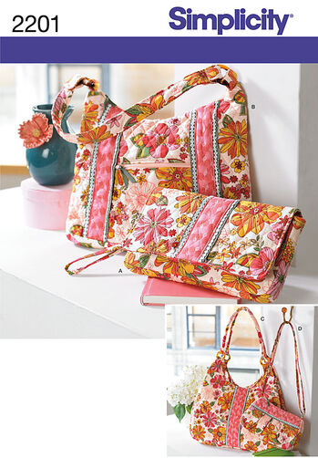 Simplicity Pattern 2201 Bags