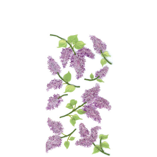 Lovely Lilacs Stickers_50-50028