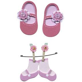 Baby Girl Booties Embellishments_50-00641