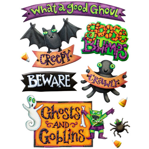 Tim Coffey Halloween Sticker Medley_30-675742