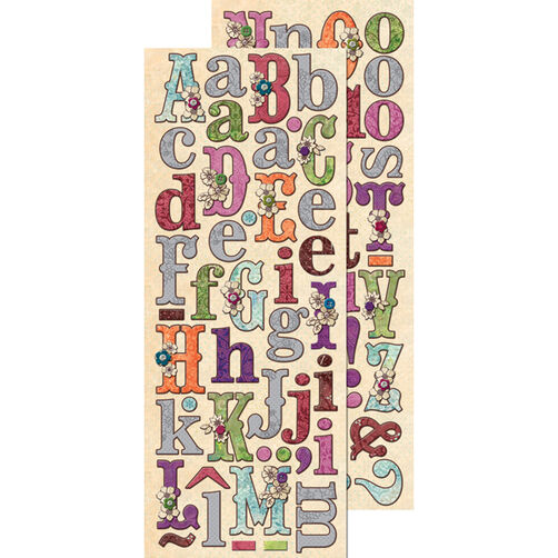 Jubilee Alphabet Adhesive Chipboard_30-388932