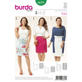Burda Style Pattern 6679 Women's Skirt