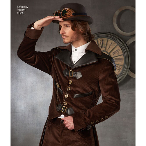 Pattern For Men S Cosplay Costumes Simplicity