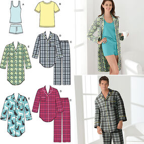 Misses' & Men's Sleepwear
