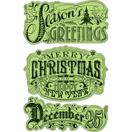 Holiday Greeting Cling Stamps_60-60291