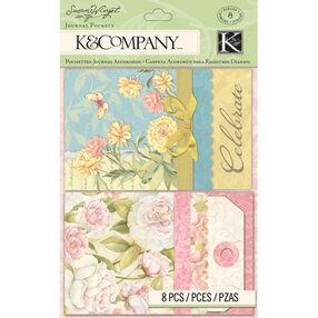 Susan Winget Floral Journal Pockets_30-663336