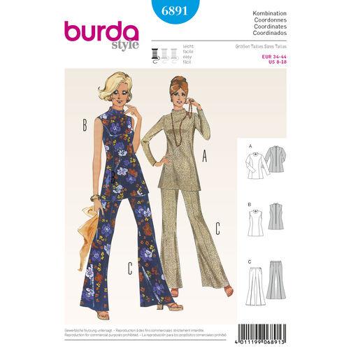 Burda Style Pattern 6891 Vintage
