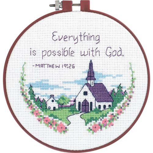 Everything is Possible, Counted Cross Stitch_72472