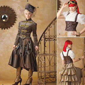 Misses' Steampunk Costume