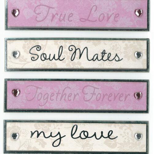 True Love Dimensional Sticker _30-577572