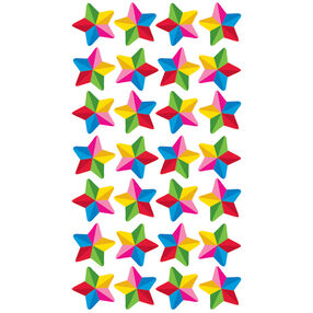 Colorful Stars Stickers_52-01152