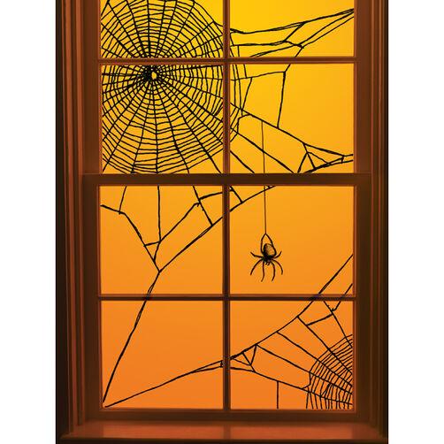 Spiderweb Corner Window Cling_48-20001