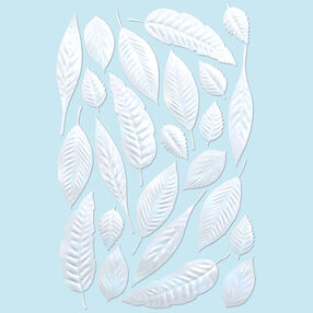 Pearl Garden Leaves Stickers_41-06014