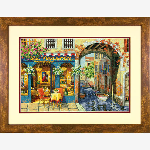 Charming Waterway in Counted Cross Stitch_70-35306