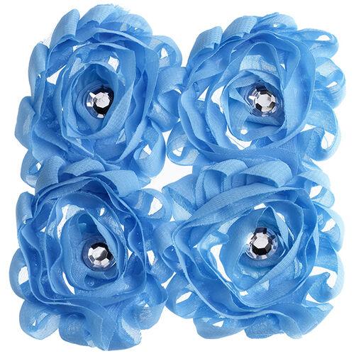 Light Blue Large Floral Embellishments_50-21589