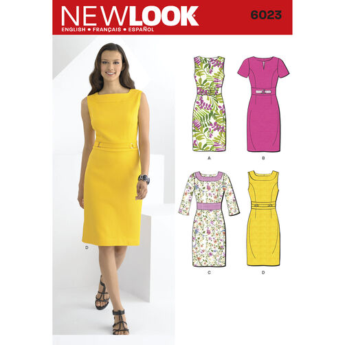 New Look Pattern 6023 Misses' Dresses