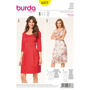 Burda Style Pattern 6577 Dress