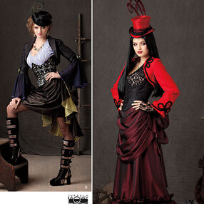 Misses' Steampunk Costume