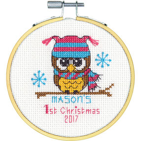 Baby's First Christmas, Counted Cross Stitch_70-08965
