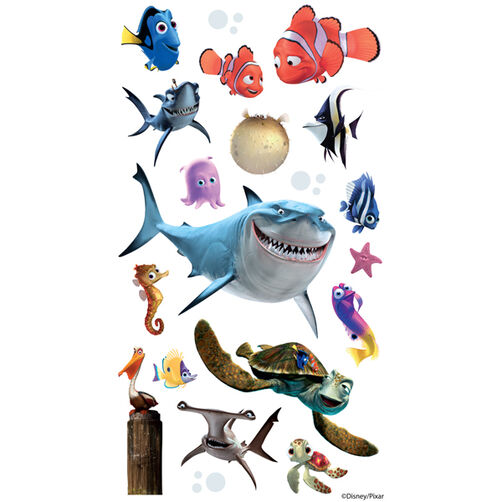 Finding Nemo Flat Stickers_53-00015