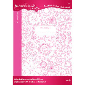 Doodle & Design Sketchbook - Floral_30-401280