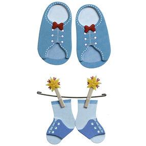 Baby Boy Booties Embellishments_50-00640