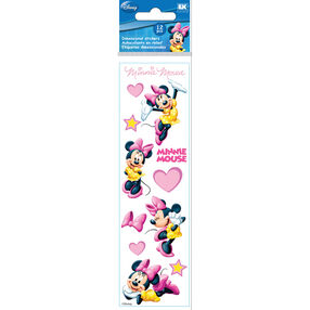 Minnie Mouse Hearts Dimensional Stickers_51-40016
